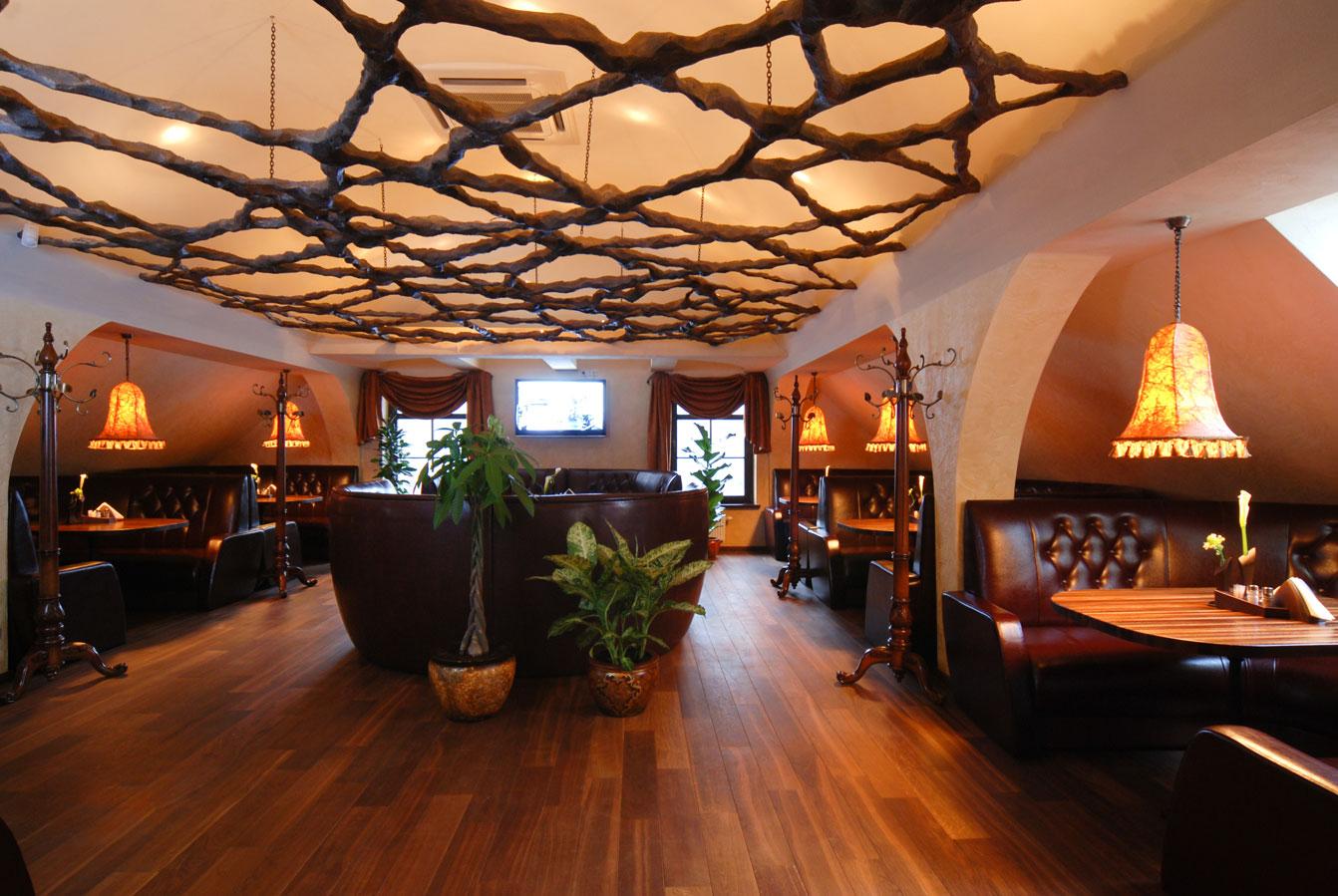 Restorano Vienaragio malūnas antras aukštas